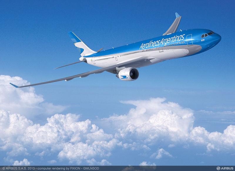 Az A330-200-as az Airbus számítógépes látványtervén. (Forrás: Airbus) | © AIRportal.hu