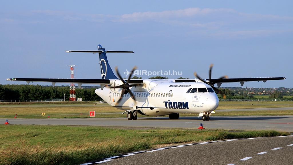 A Tarom egyik ATR 72-es típusa a budapesti Liszt Ferenc nemzetközi repülőtéren. (Fotó: Csemniczky Kristóf - AIRportal.hu) | © AIRportal.hu