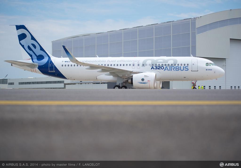 A Twitter üzenettel egyidőben az Airbus újabb fotókkal töltötte fel A320neo képgalériáját. (Forrás: Airbus) | © AIRportal.hu
