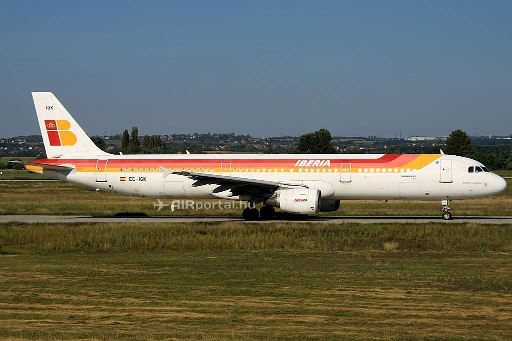Az Iberia CFM hajtóművel repüli A321-eseit.(Fotó: Csemniczky Kristóf - AIRportal.hu) | © AIRportal.hu