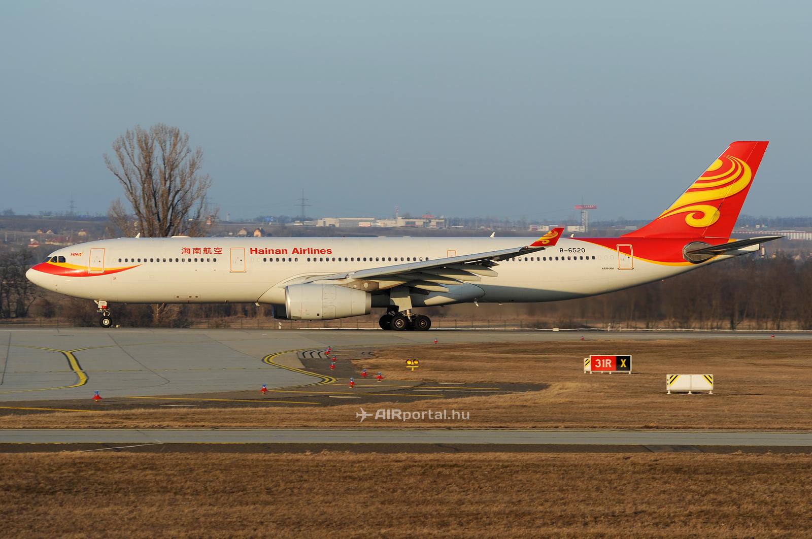 A Hainan Airlines Airbus A330-300-as repülőgépe az utolsó budapesti járat alkalmával 2012 márciusában. Vajon Horvátországban jelennek meg legközelebb? (Fotó: Kovács Gábor - AIRportal.hu) | © AIRportal.hu