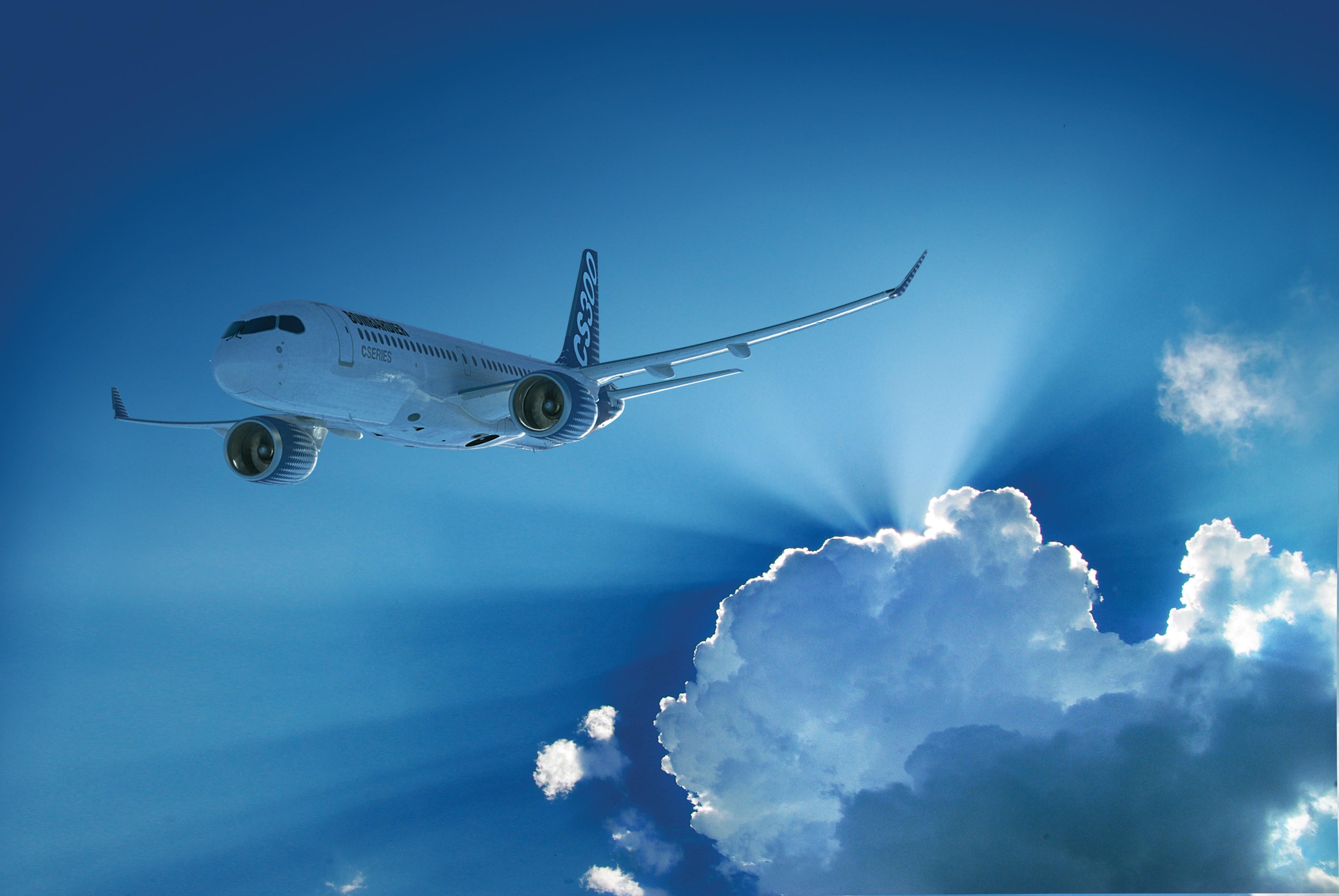 Látványterv a kanadai gyártó színeiben (Forrás: Bombardier Aircraft)   © AIRportal.hu
