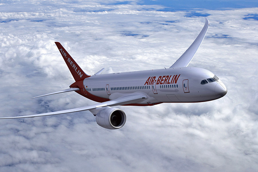 Az Dreamliner egyelőre tényleg álom marad az Air Berlin utasainak. (Forrás: Boeing)   © AIRportal.hu
