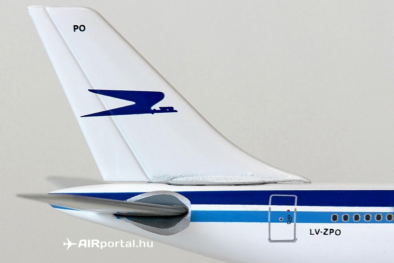 Az Aerolíneas Argentinas összesen négy darab A340-200-ast üzemeltetett. Mind a négy gép 1999-ben csatlakozott a flottába az Airbus lízing konstrukciója biztosította keretek között. Az A340-esek előzőleg a Cathay Pacificnél, illetőleg a Philippine Airlinesnál működtek. | © AIRportal.hu