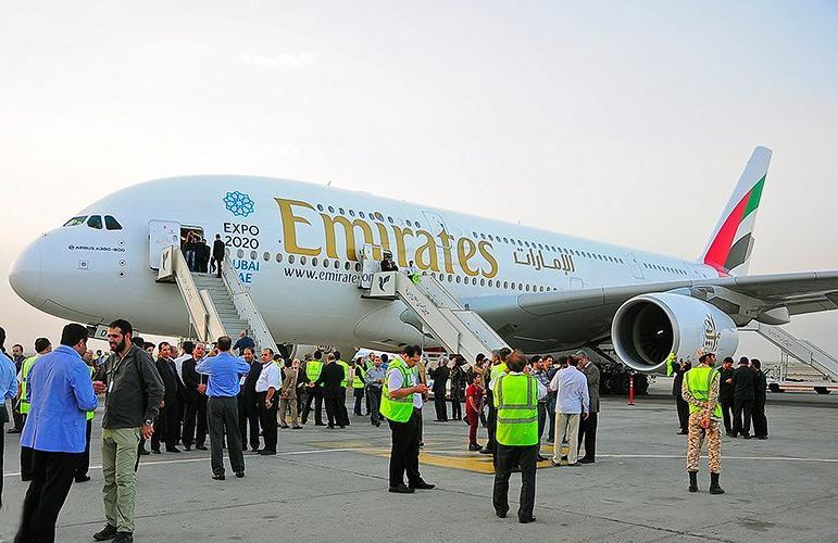 Az iráni légitársaságoknak a nemzetközi embargókból fakadóan korlátozottak a lehetőségeik, így jól jön egy olyan globális légitársaság erőteljes jelenléte, mint az Emirates. (Fotó: Emirates)   © AIRportal.hu