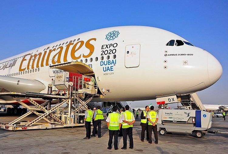 Az A380-800-as fedélzetén három-osztályon összesen 519 utasférőhely van. (Fotó: Emirates)   © AIRportal.hu
