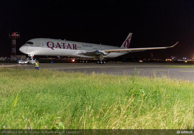 Idén augusztusban, amikor a festés elkészült, de még hajtóművek nélkül a gép. (Fotó: Airbus) | © AIRportal.hu
