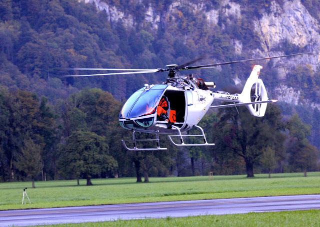 Az első levegőbe emelkedés pillanata. (Fotó: Marenco Swisshelicopter) | © AIRportal.hu