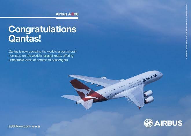 Az Airbus interneten közzétett gratuláló kártyája. (Forrás: Airbus) | © AIRportal.hu