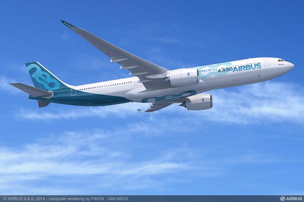 A legújabb széria, az A330-900neo látványterve. (Forrás: Airbus) | © AIRportal.hu