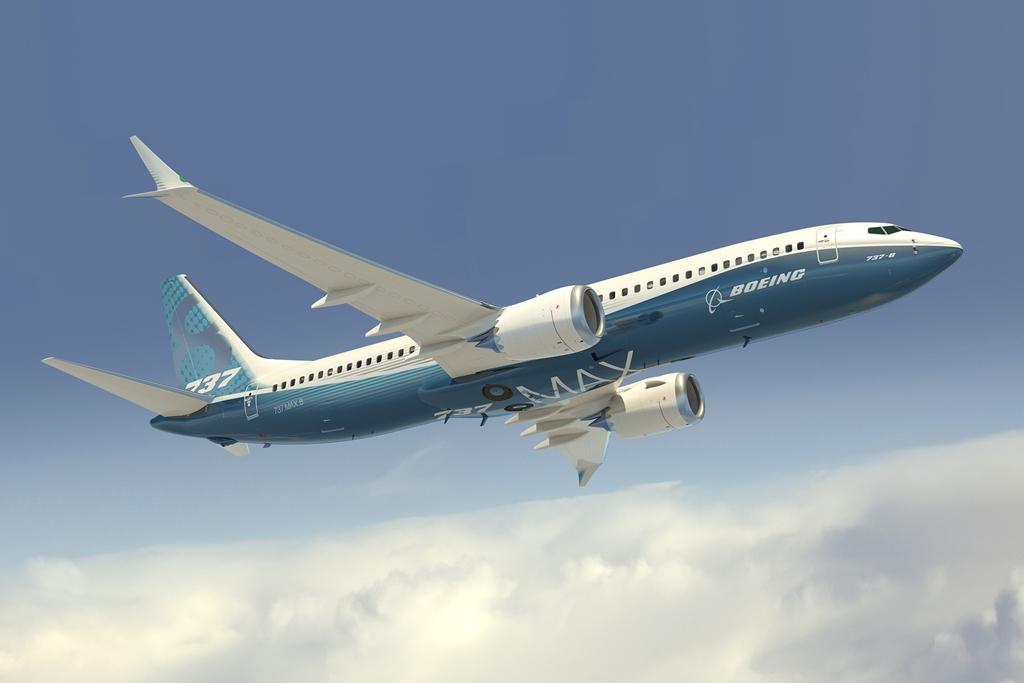 A prototípus a legnépszerűbb verzió, azaz a 737-8 MAX lesz majd. (Grafika: Boeing) | © AIRportal.hu