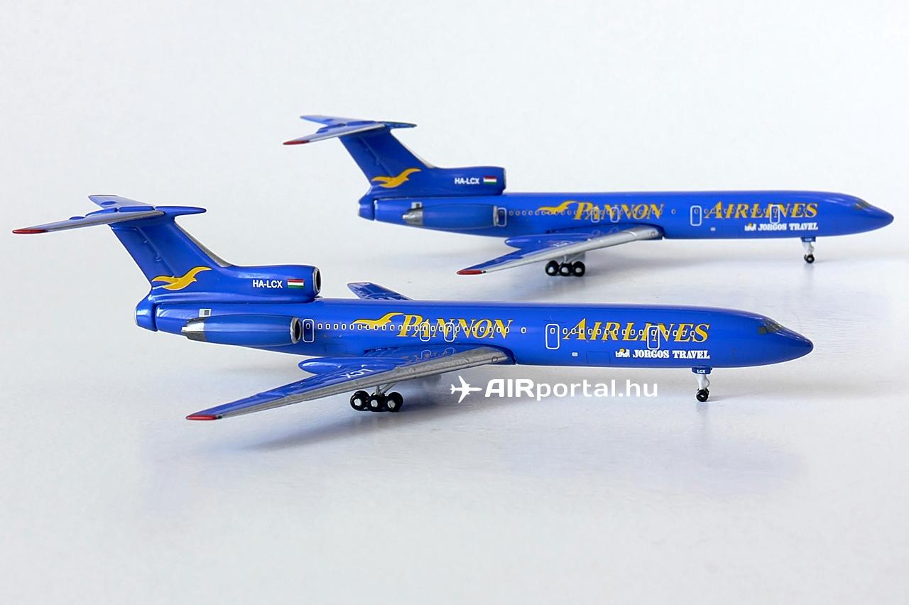 A Malév charter-monopóliumának megtörése egyetlen géppel vakmerő vállalkozás volt. A Pannon Airlines ezért már a kezdetekben jelezte flottabővítési szándékát. A tervek között szerepelt további Tu-154M, valamint Boeing 737 típusok beszerzése, de végül egyik sem tudott a megvalósítás fázisába jutni.   © AIRportal.hu