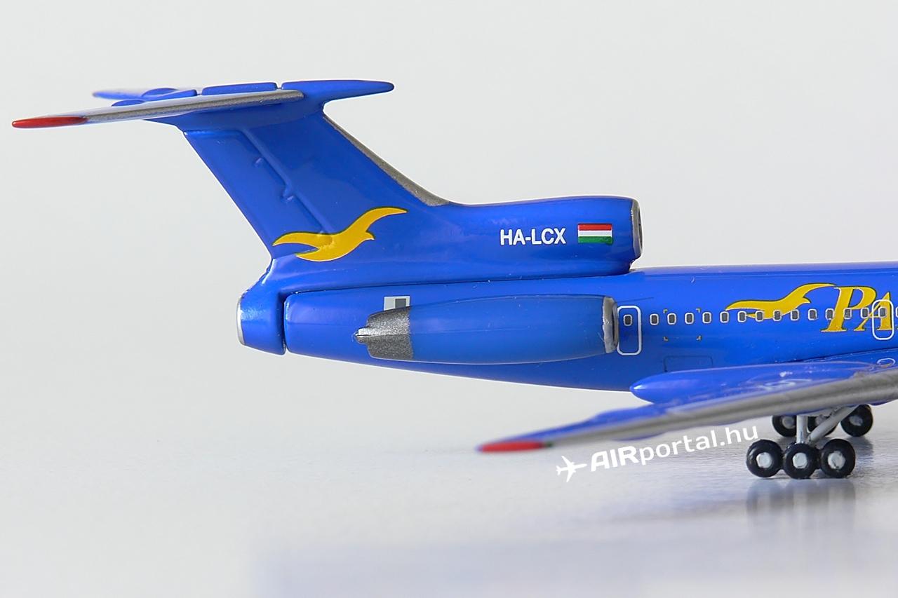 A Pannon Airlines M-szériás Tu-154-ese három darab Szolovjov D-30 hajtóművel üzemelt. Ezek kicsivel kevesebbet fogyasztottak és valamivel csendesebbek is voltak a B2 szériában működtetett Kuznyecov NK-8-as erőforrásokkal szemben, amelyek a Malév gépeit is hajtották.   © AIRportal.hu