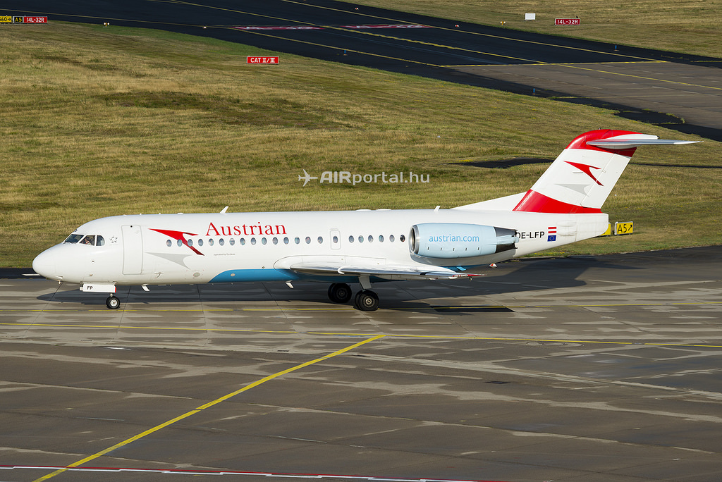 Az Austrian Airlines a Fokker 70-es típus egyik utolsó európai üzemeltetője. (Fotó: Bodorics Tamás - AIRportal.hu) | © AIRportal.hu