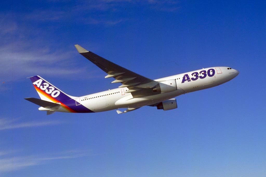A330-200-as a szűzrepülése közben. (Fotó: Airbus) | © AIRportal.hu