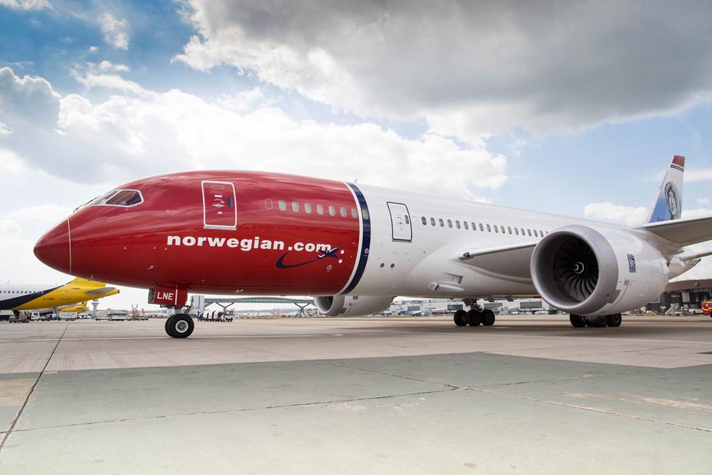 A társaság Boeing 787-8-asai két-osztályos elrendezésben működnek, és egyenként összesen 291 utas szállítására alkalmasak. (Fotó: Norwegian)   © AIRportal.hu