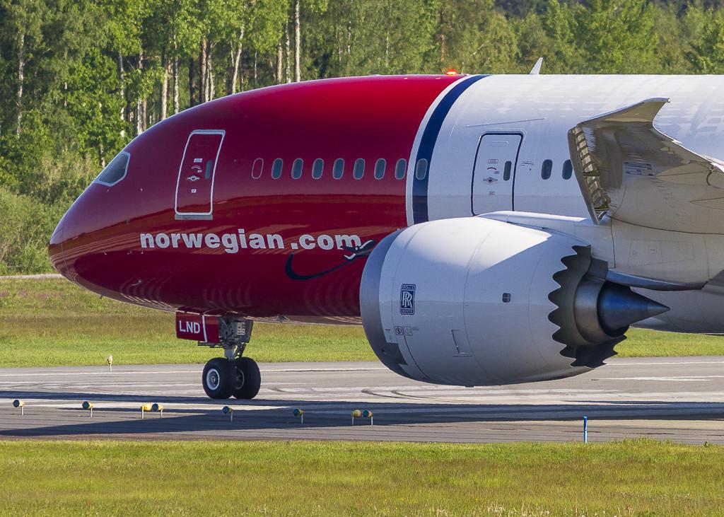 A választás nem meglepő, hiszen a flotta meglévő Boeing 787-8-asait is Rolls-Royce hajtóművek mozgatják. (Fotó: Norwegian)   © AIRportal.hu