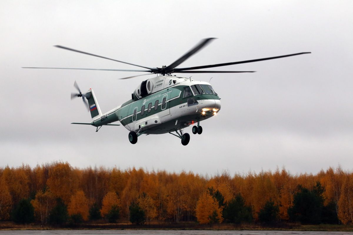 Levegőben a harmadik prototípus (Forrás: Russian Helicopters)   © AIRportal.hu