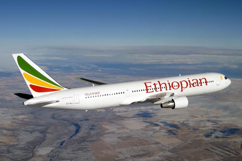 Az etióp légitársaság flottájában összesen 10 darab szélestörzsű Boeing 767-300ER teljesít szolgálatot. Ezek közül az egyik gép különleges, Star Alliance szövetségesi festésmintát visel. (Fotó: Ethiopian Airlines) | © AIRportal.hu