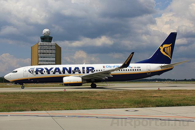A Ryanair korábban még Budpestről is üzemeltetett járatokat Eindhovenbe. (Fotó: AIRportal.hu) | © AIRportal.hu