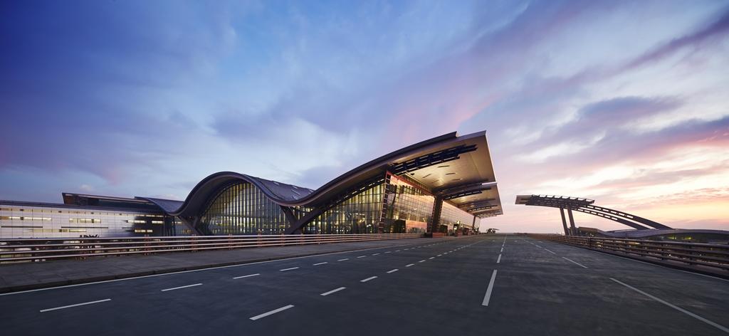Doha idén április végén átadott új nemzetközi repülőterének indulási szintje. (Fotó: Hamad International Airport)   © AIRportal.hu