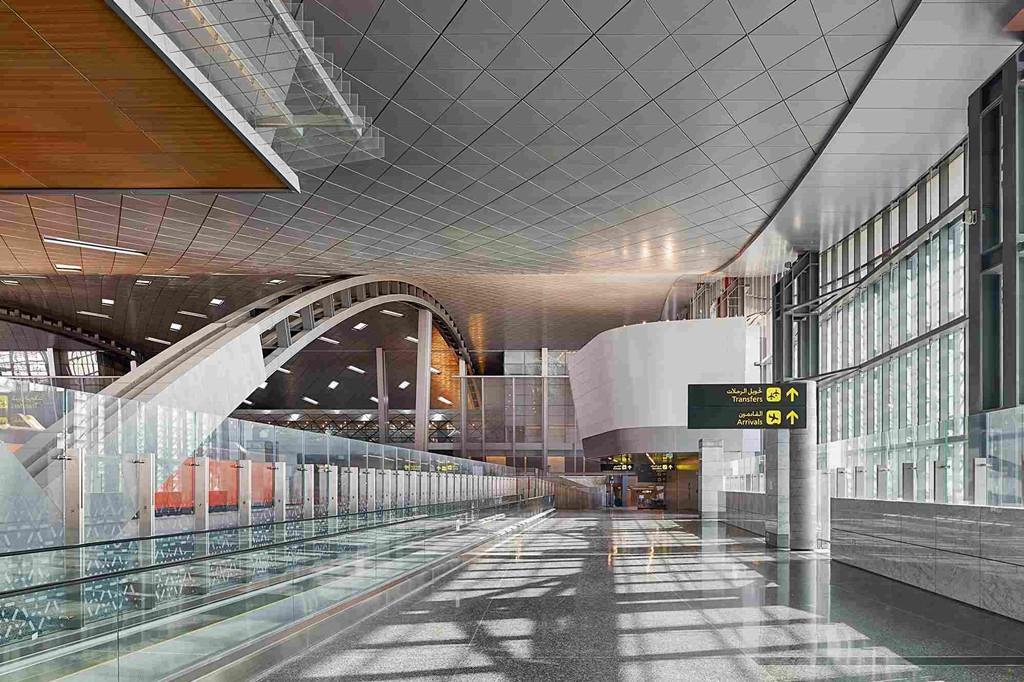 A Hamad utasterminálja. (Fotó: Hamad International Airport)   © AIRportal.hu