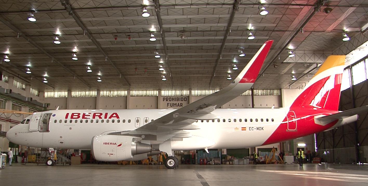 Forrás: Iberia   © AIRportal.hu