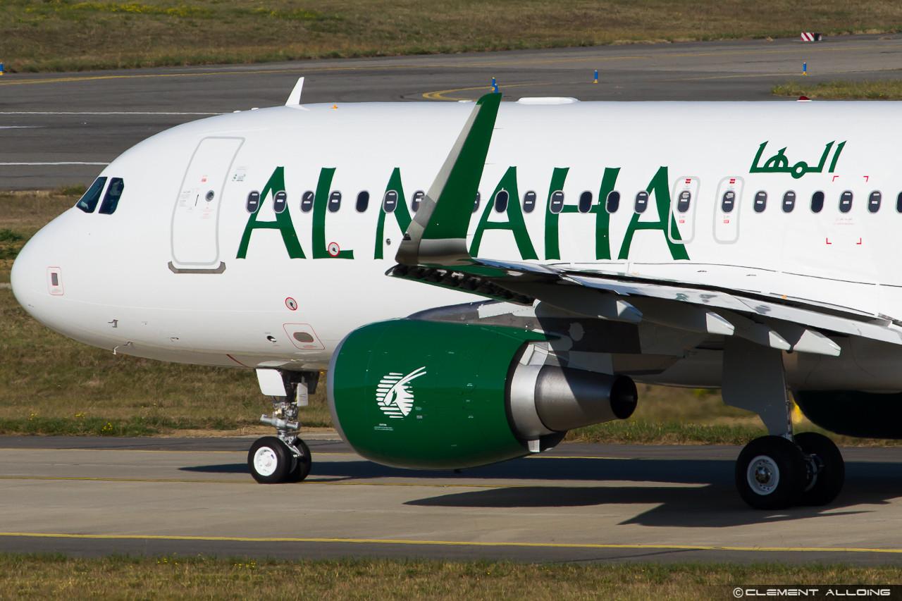 Útban a futópálya felé az Al Maha első Airbus A320-as repülőgépe. (Fotó: Clément Alloing - flickr) | © AIRportal.hu