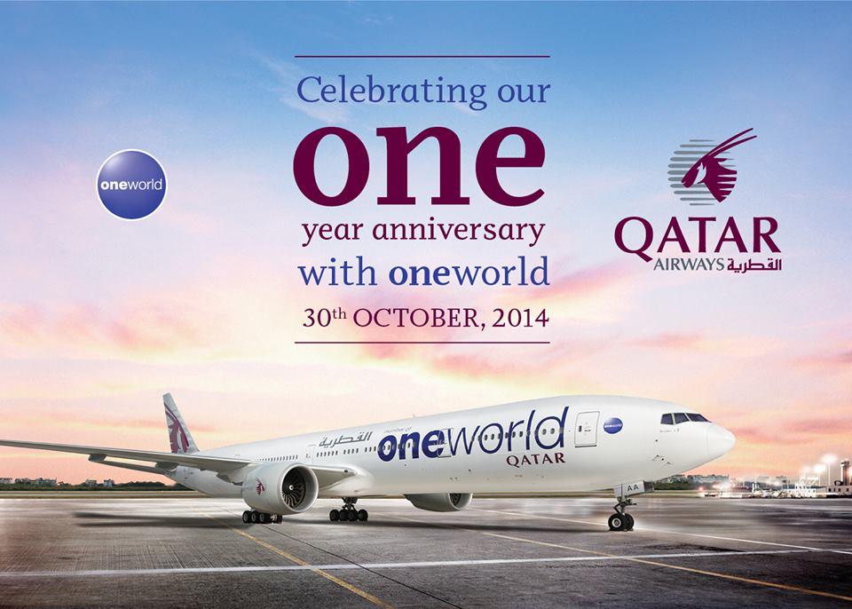 A Qatar Airways idén októberben ünnepli oneworld tagságának első évét. Az Öböl-menti nagyok közül egyelőre egyedül a katari légitársaság lépett be globális légiszövetségbe. (Fotó: Qatar Airways) | © AIRportal.hu