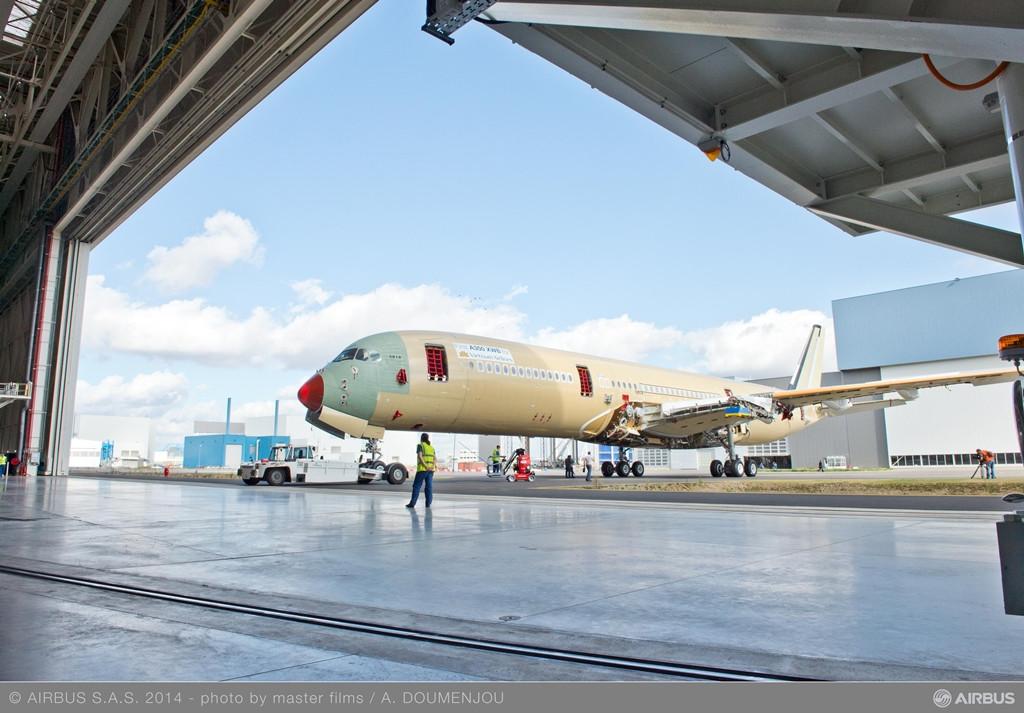 A Qatar Airways után a második üzemeltető a Vietnam Airlines lesz, amelynek gépe már szerkezetkészen halad a teljes megvalósulás felé Toulouseban. (Fotó: Airbus)   © AIRportal.hu