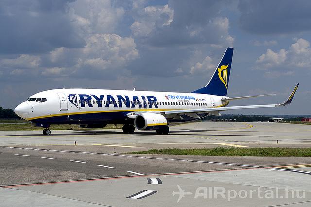 A Ryanair egyik Boeng 737-ese. (Fotó:AIRportal.hu) | © AIRportal.hu
