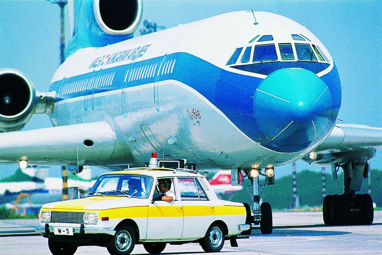 """Már csak a régi festésű Tu-154-es hiányzik. A képre kattintva galéria nyílik! (Fotók: Malév """"Öt évtized szárnyakon"""" c. kiadvány via Aeronews/LKK)   © AIRportal.hu"""