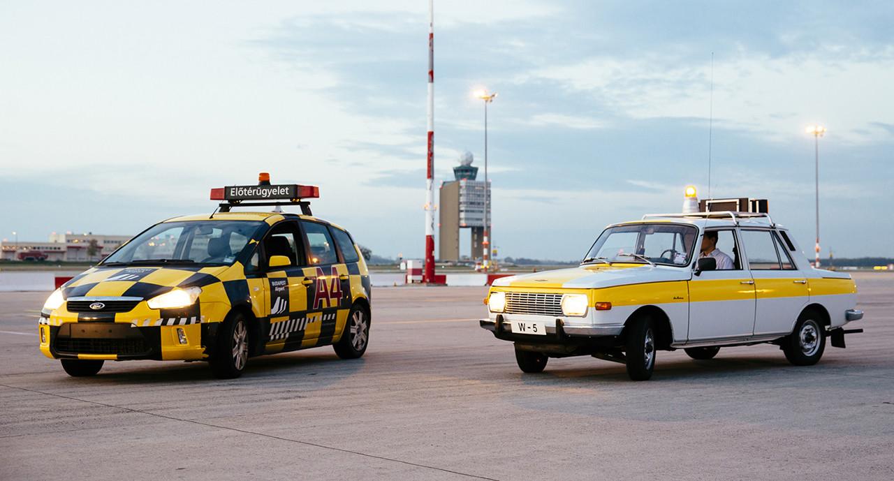 Jelen és múlt egy képen.   © AIRportal.hu