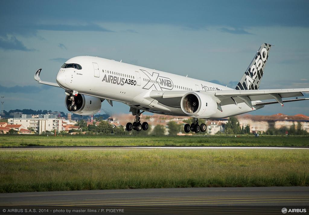 A toulouse-i felszállás november 17-én. (Fotó: Airbus) | © AIRportal.hu