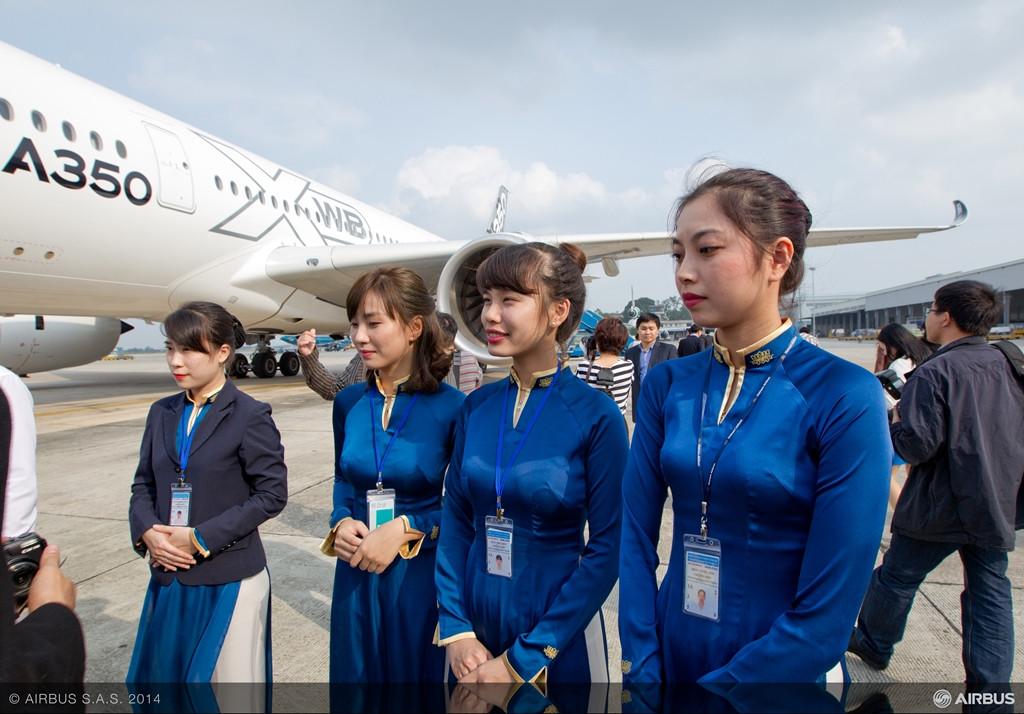 Hanoiban, ahol a Vietnam Airlines az első és legfontosabb ügyfél. (Fotó: Airbus) | © AIRportal.hu
