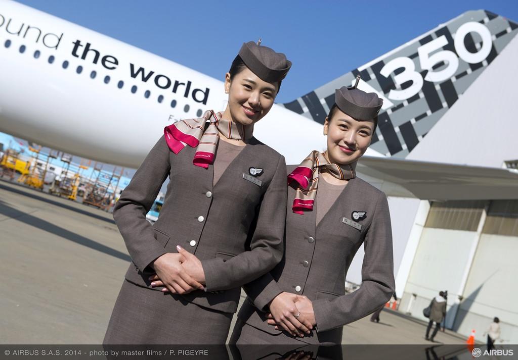 Az első állomáson, Szöulban. (Fotó: Airbus) | © AIRportal.hu