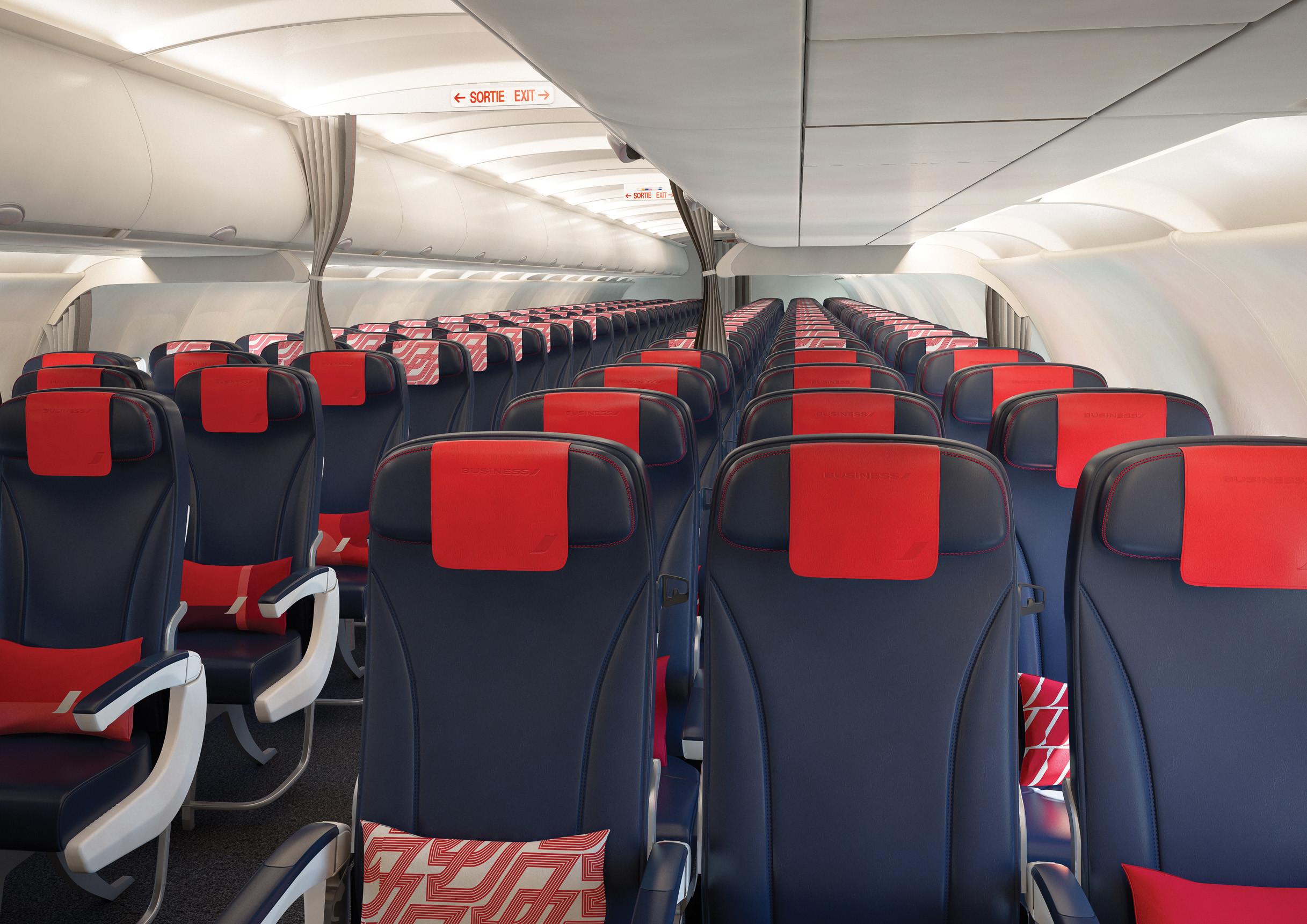 Az új ülések (Fotó: Air France) | © AIRportal.hu