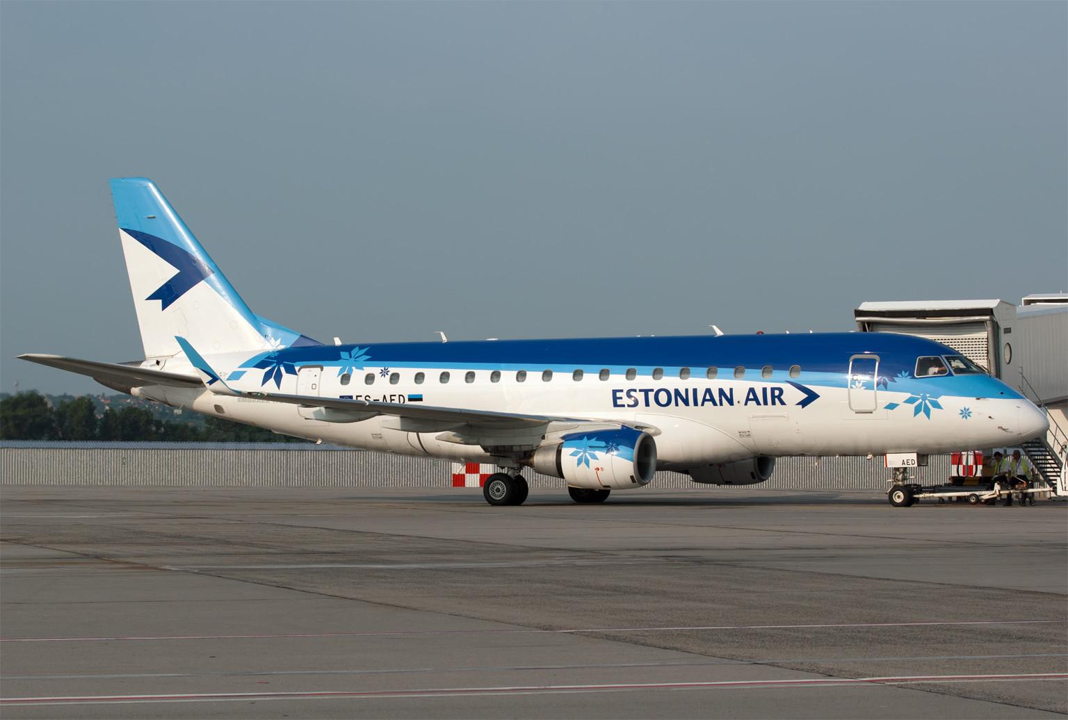 Ha valóban elindul a légitársaság és a budapesti járat, akkor márciustól hetente háromszor találkozhatunk Ferihegyen az észt Embraer 170-essel. (Fotó: Szalmási Szabolcs - AIRportal.hu)   © AIRportal.hu