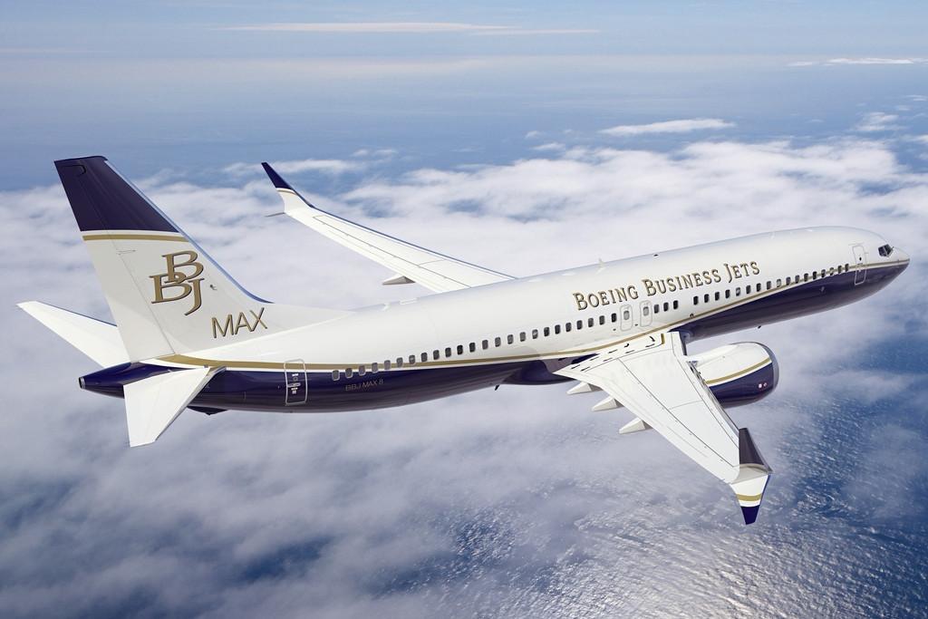 Boeing Business Jets 737 MAX-8 látványterv. (Forrás: Boeing Company) | © AIRportal.hu