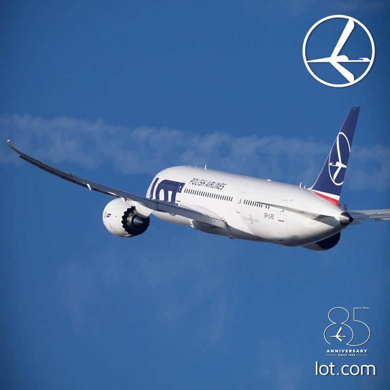 Boeing 787-8-as a lengyel légitársaság fotóján. (Forrás: LOT Polish Airlines) | © AIRportal.hu