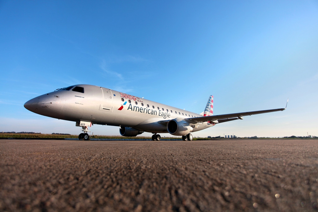 Az ezredik E-Jetet tavaly ősszel adta át az Embraer, egy amerikai légitársaságnak. (Fotó: Embraer) | © AIRportal.hu