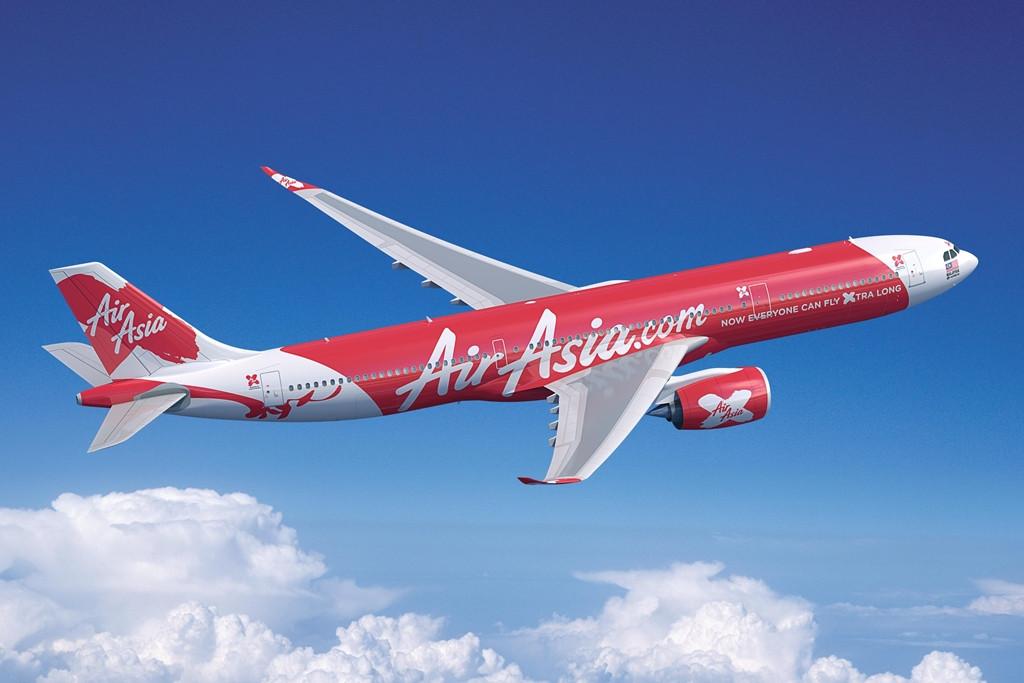 AirAsia X A330-900neo másik szögből. (Forrás: Airbus)   © AIRportal.hu