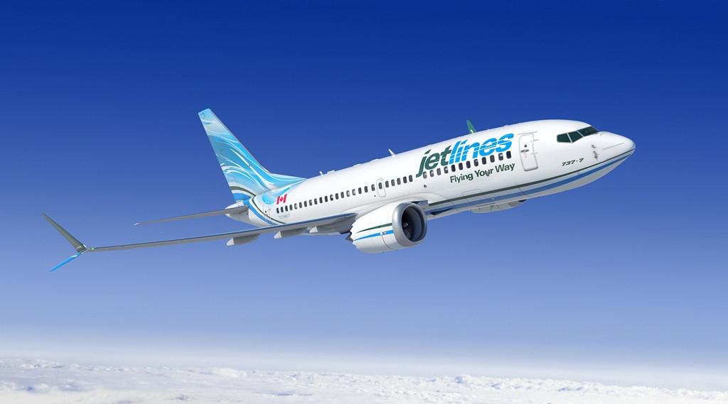 Boeing 737 MAX-7 számítógépes látványterv. (Forrás: Boeing Company) | © AIRportal.hu