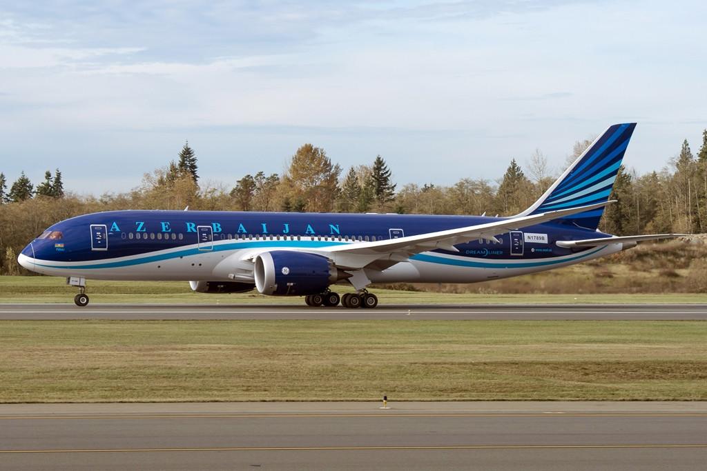 Az azeri légitársaság első Boeing 787-ese. (Fotó: Boeing Company)   © AIRportal.hu