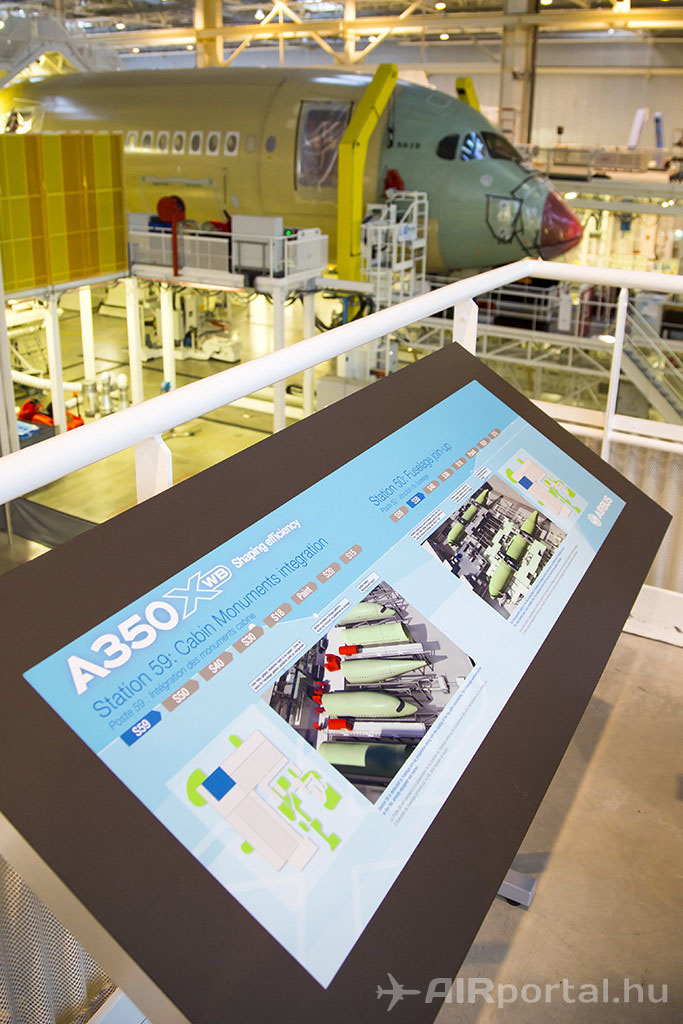 """Nem csak maga a repülőgéptípus innovatív és környezetkímélő, hanem a végszerelő-csarnok épülete is """"zöld"""" és a gyártási folyamat is hatékonyabb lett. (Fotó: AIRportal.hu)   © AIRportal.hu"""