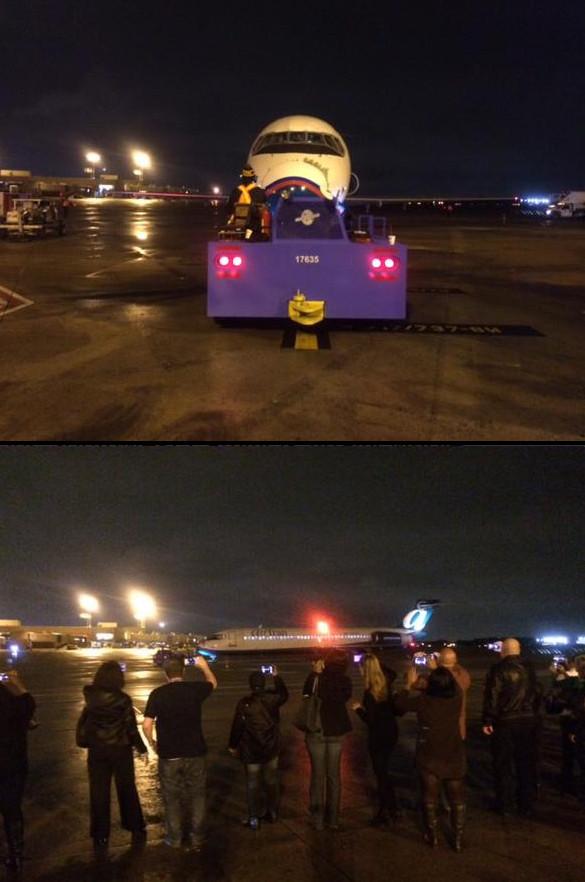 Az utolsó járatot a flotta egyik Boeing 717-es gépe teljesítette az Atlanta-Tampa Bay útvonalon, 117 fővel a fedélzeten. (Fotó: Southwest Airlines) | © AIRportal.hu