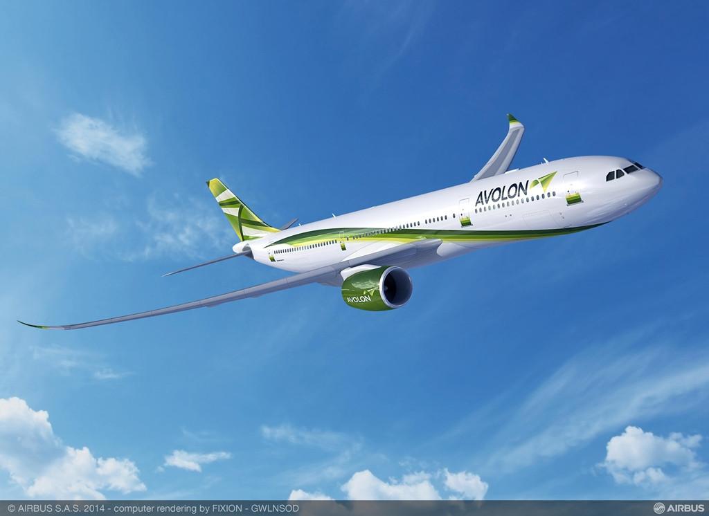 Avolon A330-900neo látványterven. (Forrás: Airbus) | © AIRportal.hu