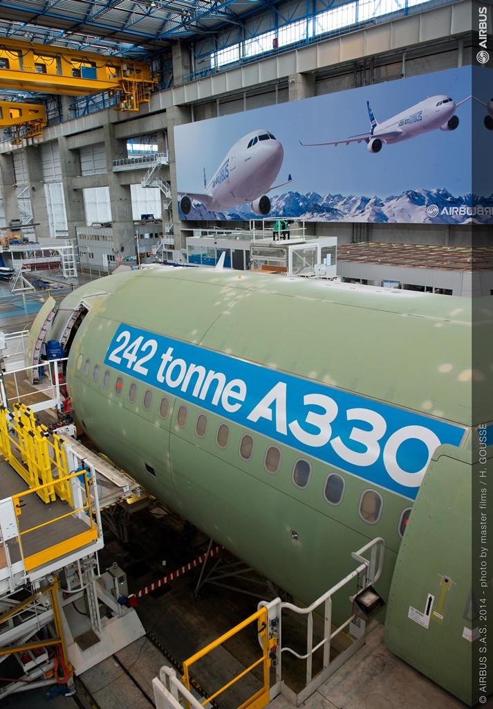 2015-ben lesz az első 242 tonnás A330-as átadás is. (Fotó: Airbus) | © AIRportal.hu