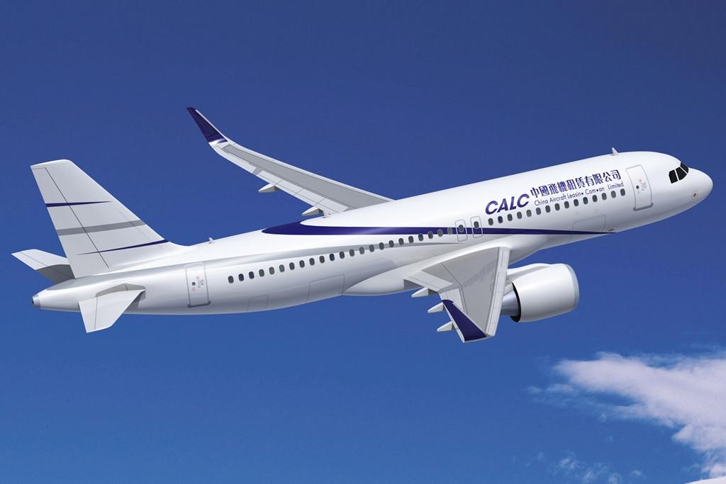 Airbus A320 a CALC színeiben. (Fotó: Airbus)   © AIRportal.hu