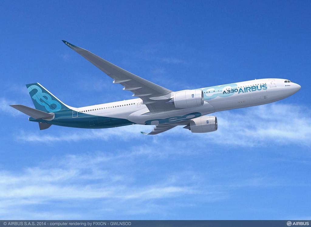 A330-900neo számítógépes látványterven. (Forrás: Airbus)   © AIRportal.hu